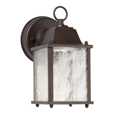 Antique Bronze Led Outdoor Wall