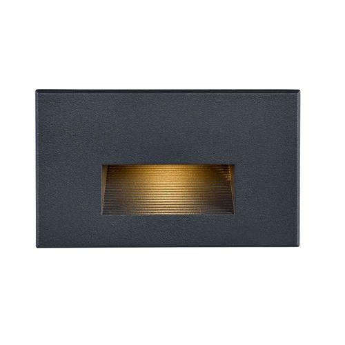 5-Watt Bronze Hardwired Integrated LED Step Light Kit at