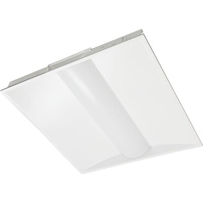 1 Light White Lighting Products Led Troffers At Lowes