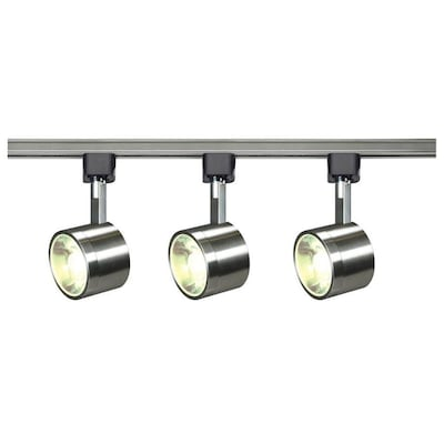 3 Light 48 In Brushed Nickel Dimmable