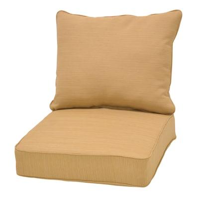 Roth 2 Piece Wheat Deep Seat Patio