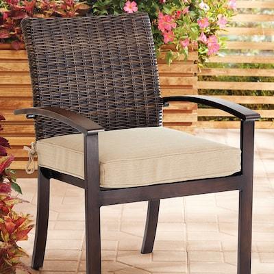 Allen Roth Wheat Patio Chair Cushion