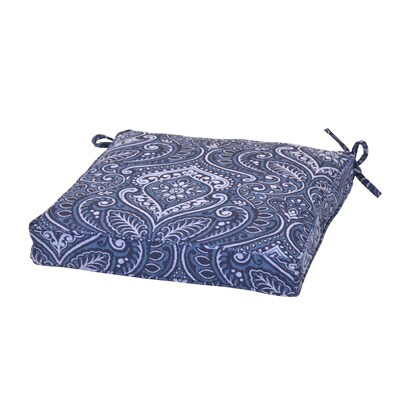 Plantation Patterns Damask Patio Chair Cushion at Lowes.com