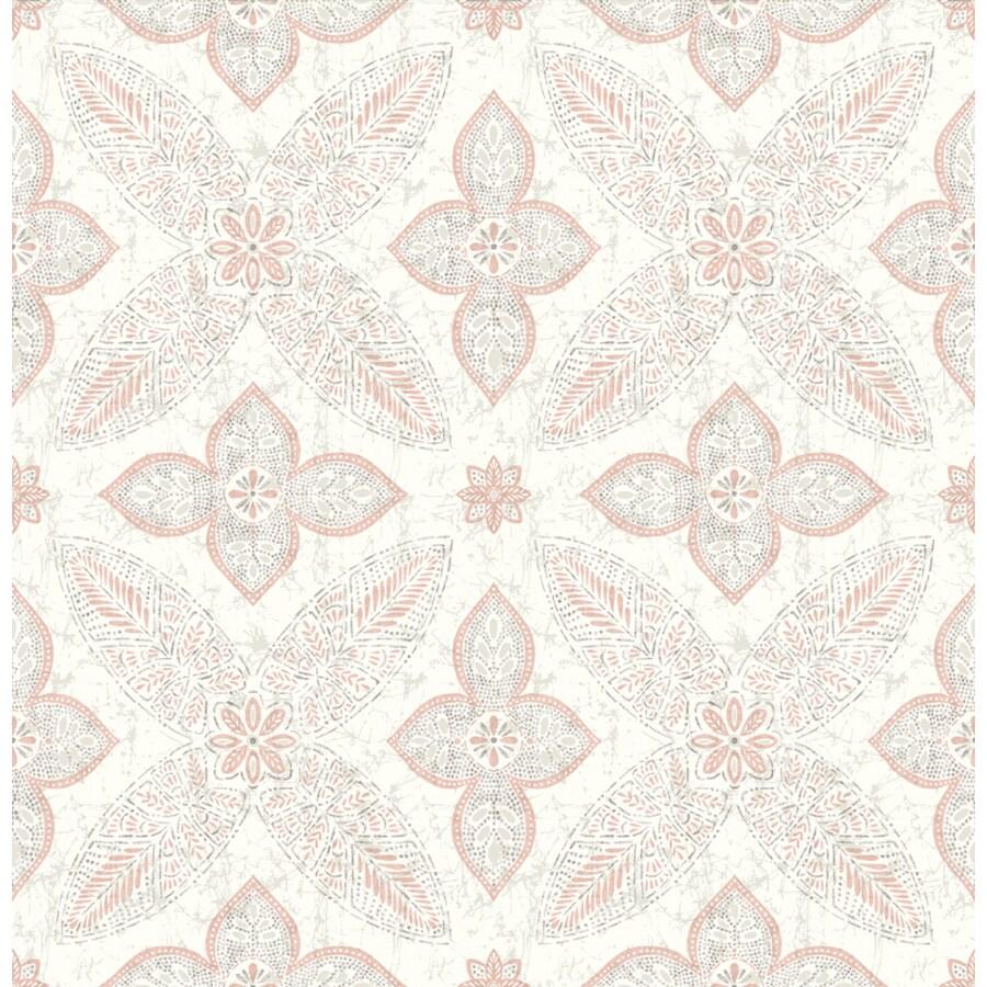 Brewster Wallcovering Kismet Grey Non-Woven Floral Wallpaper