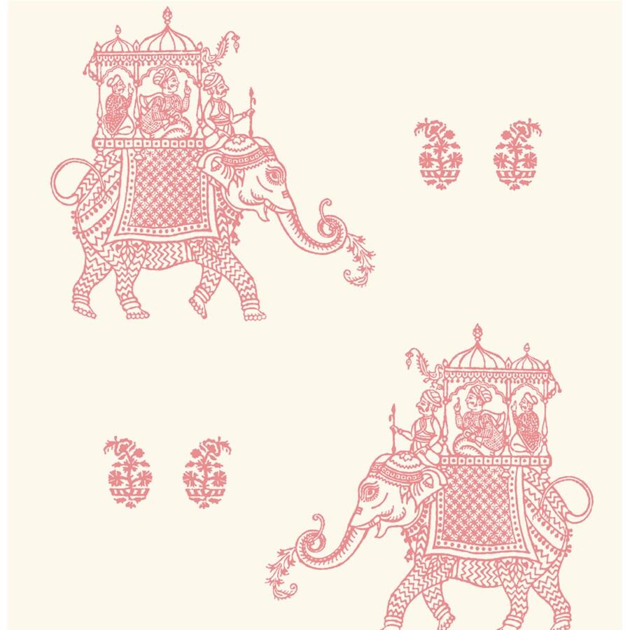 Brewster Wallcovering Kismet Pink Non-Woven Geometric Wallpaper