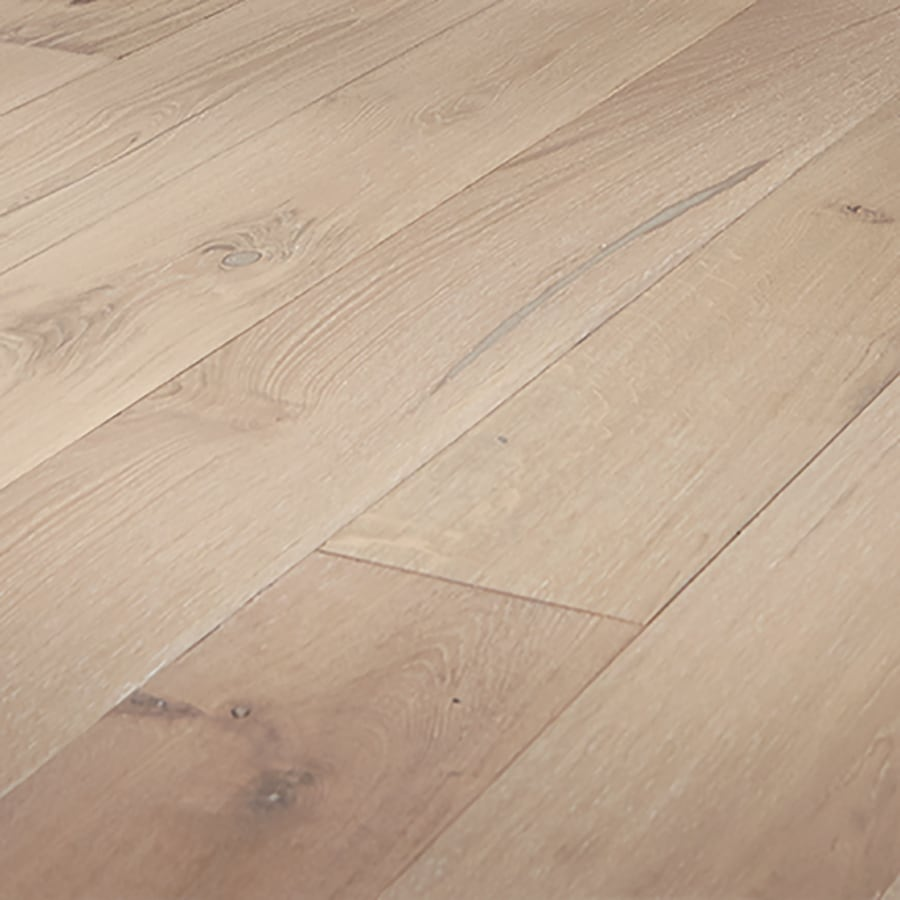 Shop mullican flooring mount castle seashell oak for Engineered oak flooring