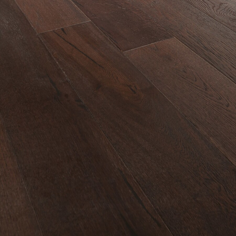 Mullican Flooring Oak Hardwood Flooring Sample (Truffle)