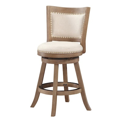 Incredible Melrose Rustic Brown Wire Brush Counter Stool Pdpeps Interior Chair Design Pdpepsorg