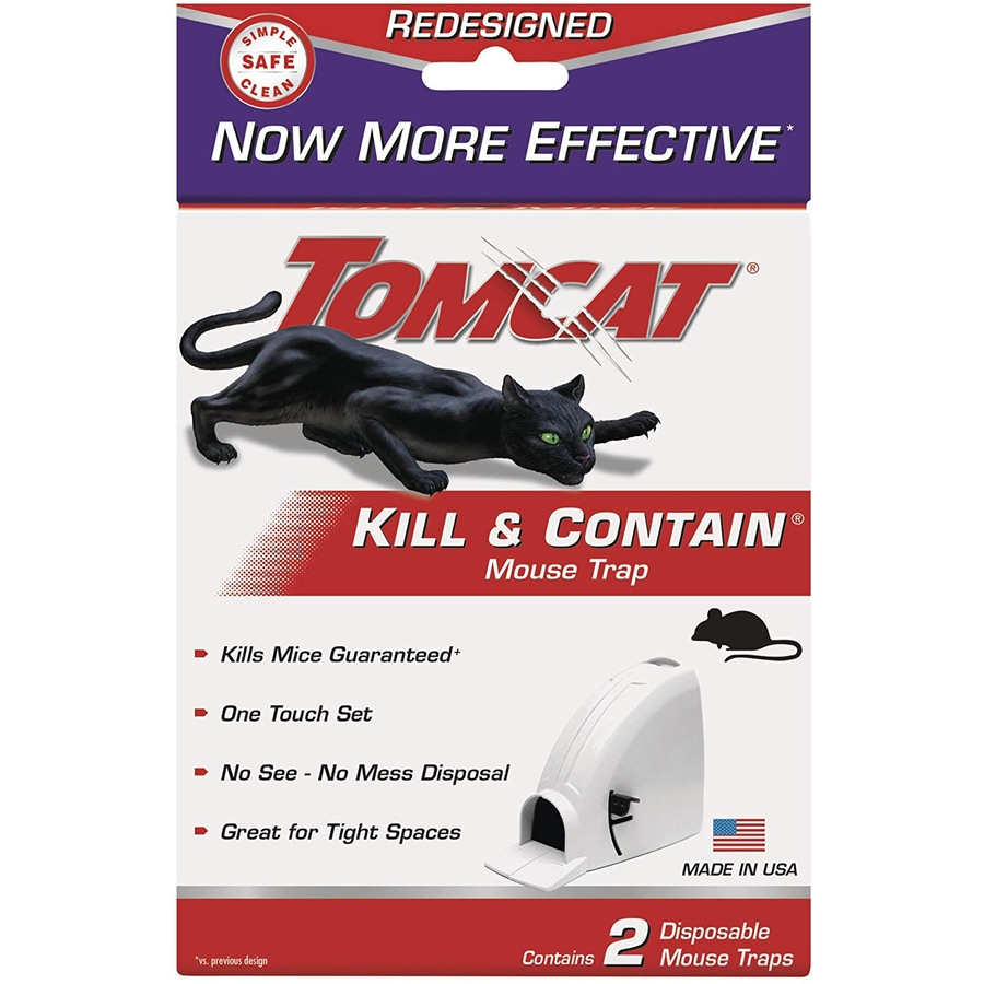TOMCAT Kill and Contain Mouse Trap