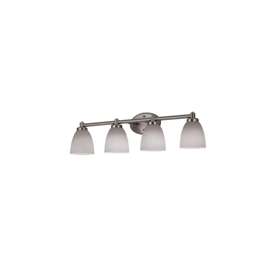 Portfolio 4 Light 3045 In Brushed Nickel Vanity Light At Lowescom
