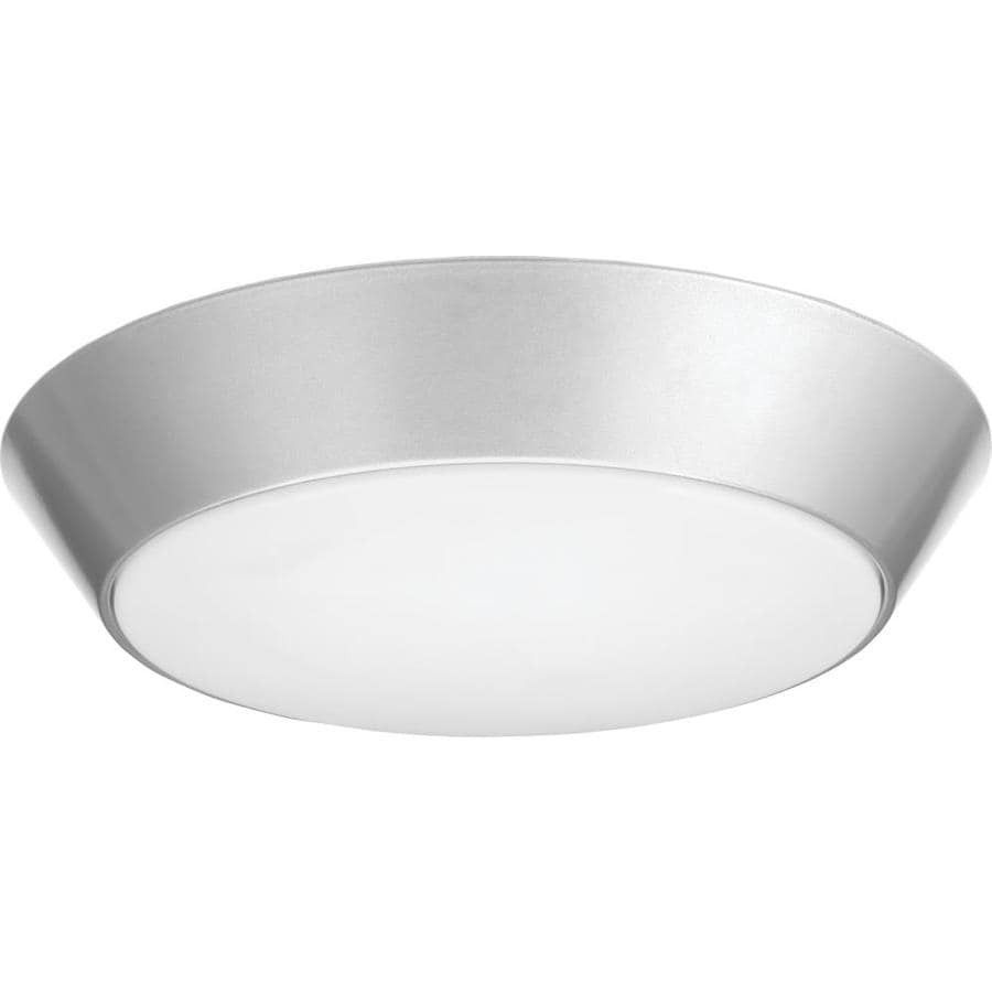 Lithonia Lighting Led Versi Flush Mount 13 In W Natural Aluminum Light
