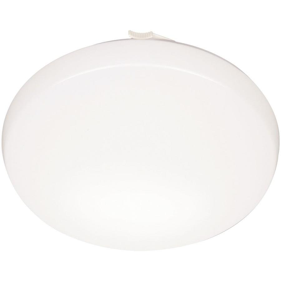 Lithonia Lighting Low Profile Round 11-in White Modern