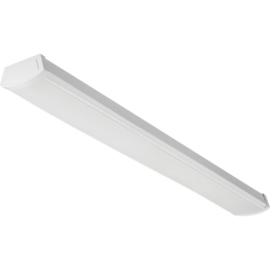 Lithonia Lighting 4 Ft. LED 3500K Wraparound Fixture At