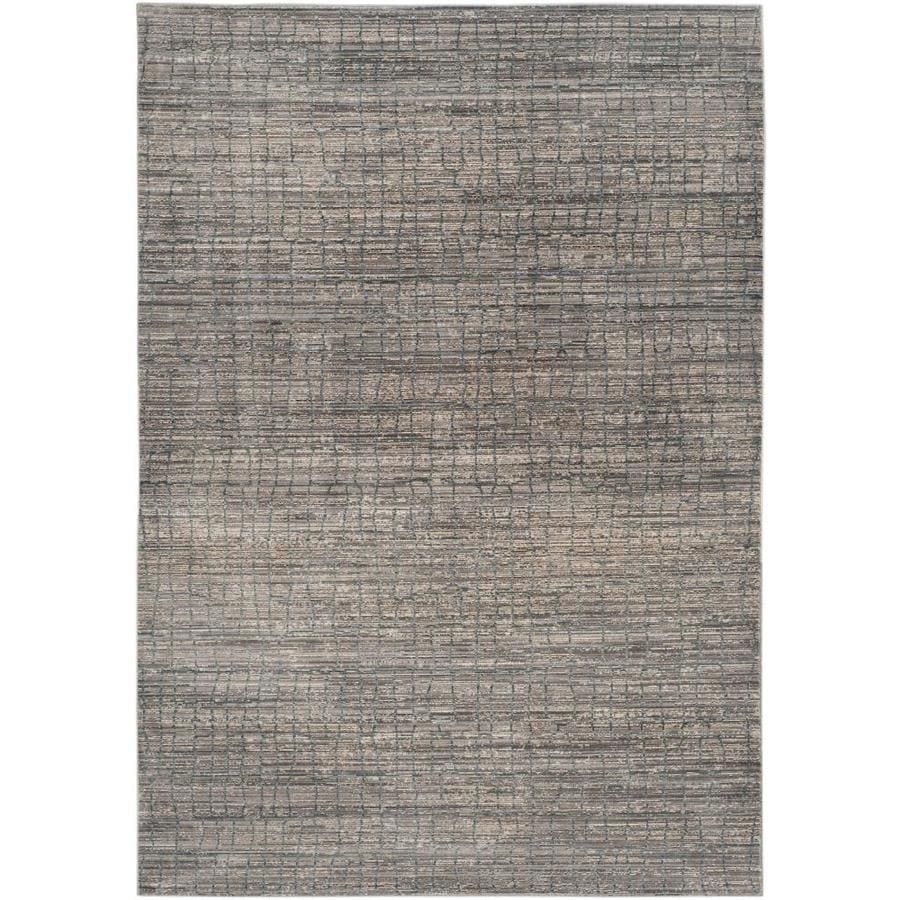 Safavieh Valencia Gretta Gray/Multi Rectangular Indoor Machine-made Distressed Area Rug (Common: 4 x 6; Actual: 4-ft W x 6-ft L)