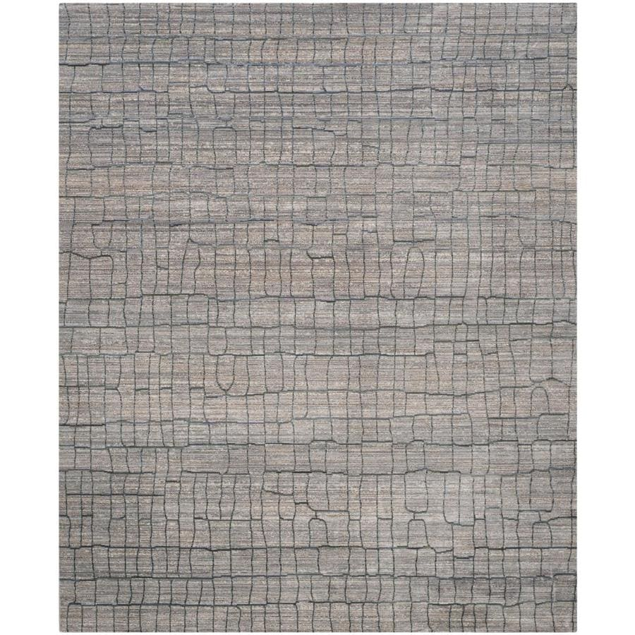 Safavieh Valencia Gretta Gray Indoor Distressed Area Rug (Common: 8 x 10; Actual: 8-ft W x 10-ft L)