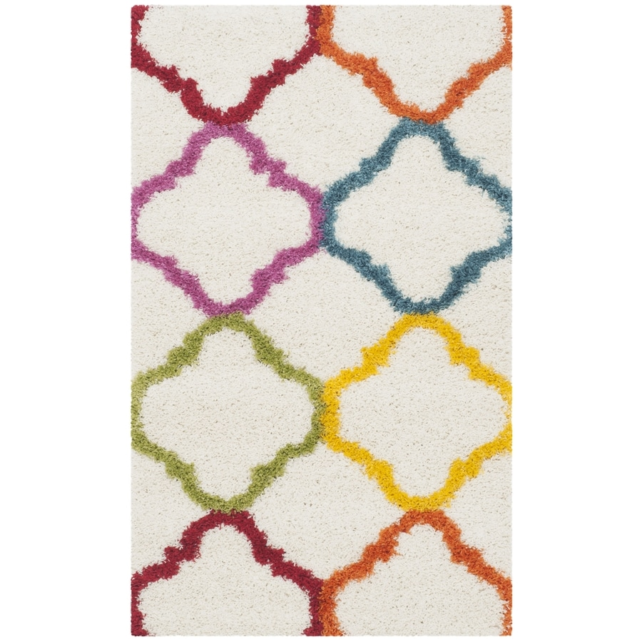 Safavieh Indoor Kids Throw Rug (Common: 3 x 5; Actual: 3-ft W x 5-ft L)