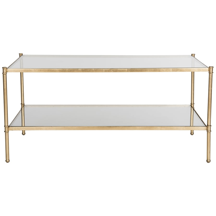 Shop Safavieh Aslan Glass Coffee Table at Lowes