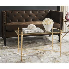 Safavieh Tait Antique Gold Gl Coffee Table