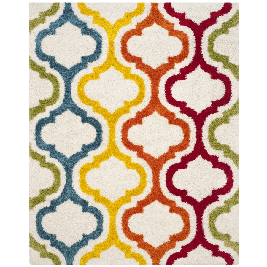 Safavieh Multi Indoor Kids Area Rug (Common: 8 x 10; Actual: 8-ft W x 10-ft L)