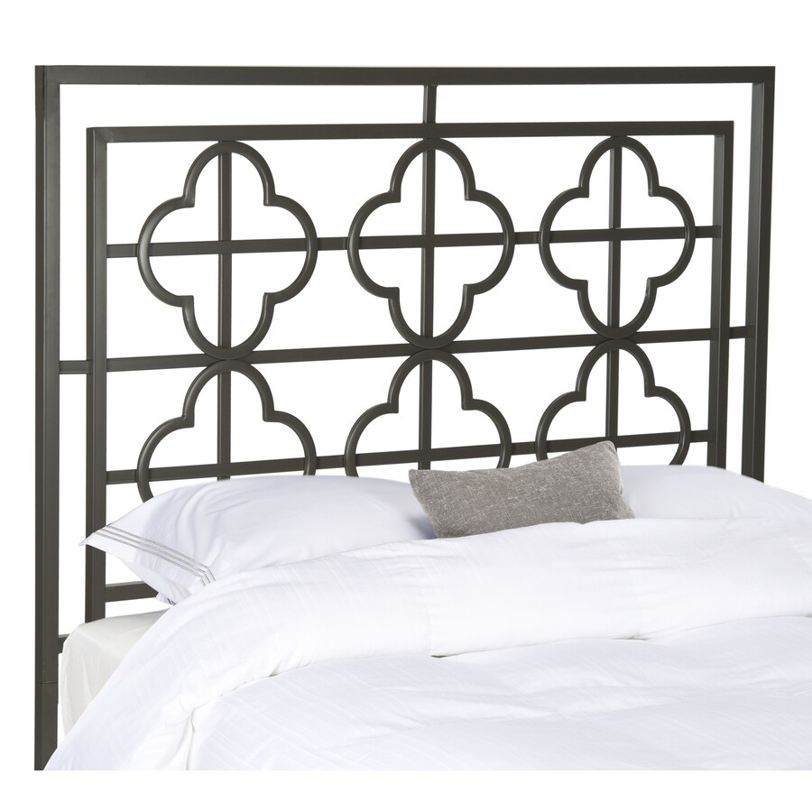Safavieh Lucinda Gunmetal Full Headboard