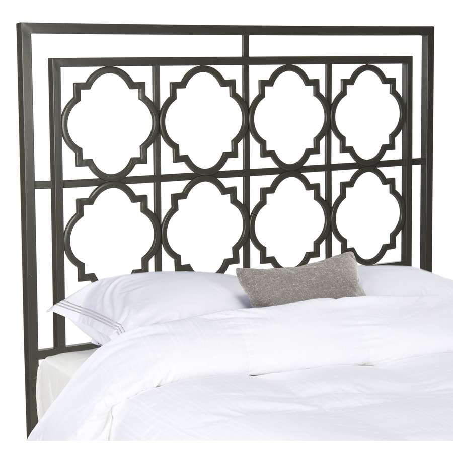 Safavieh Fox Gunmetal Queen Headboard