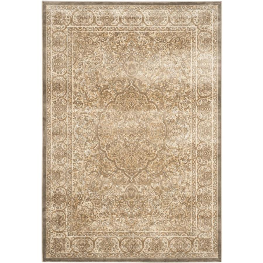 Safavieh Paradise Callia Mouse/Silver Rectangular Indoor Machine-made Distressed Area Rug (Common: 5 x 7; Actual: 5.25-ft W x 7.5-ft L)