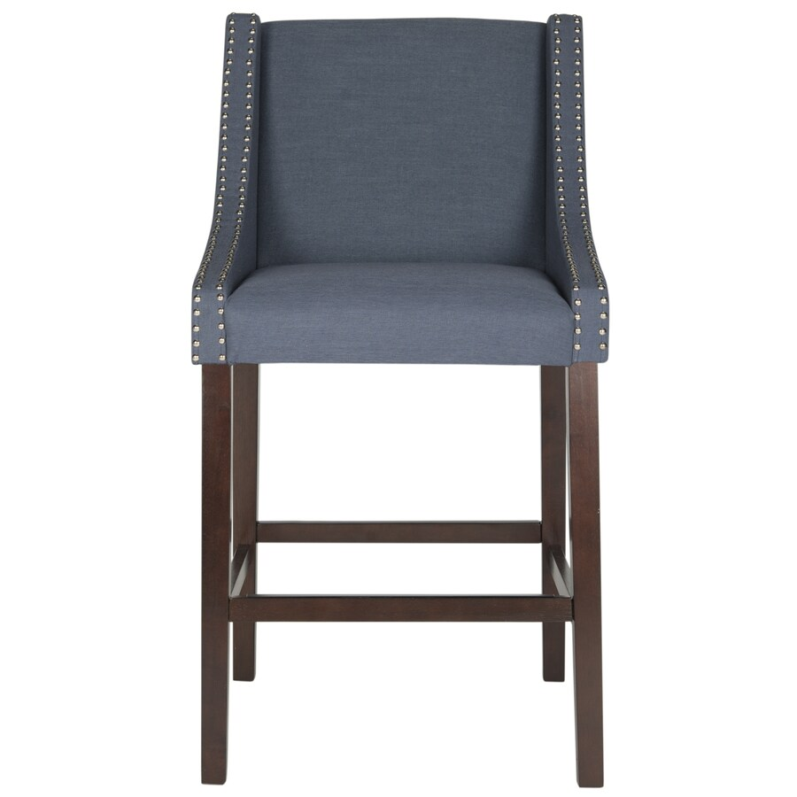 Safavieh Dylan Modern Navy Bar Stool
