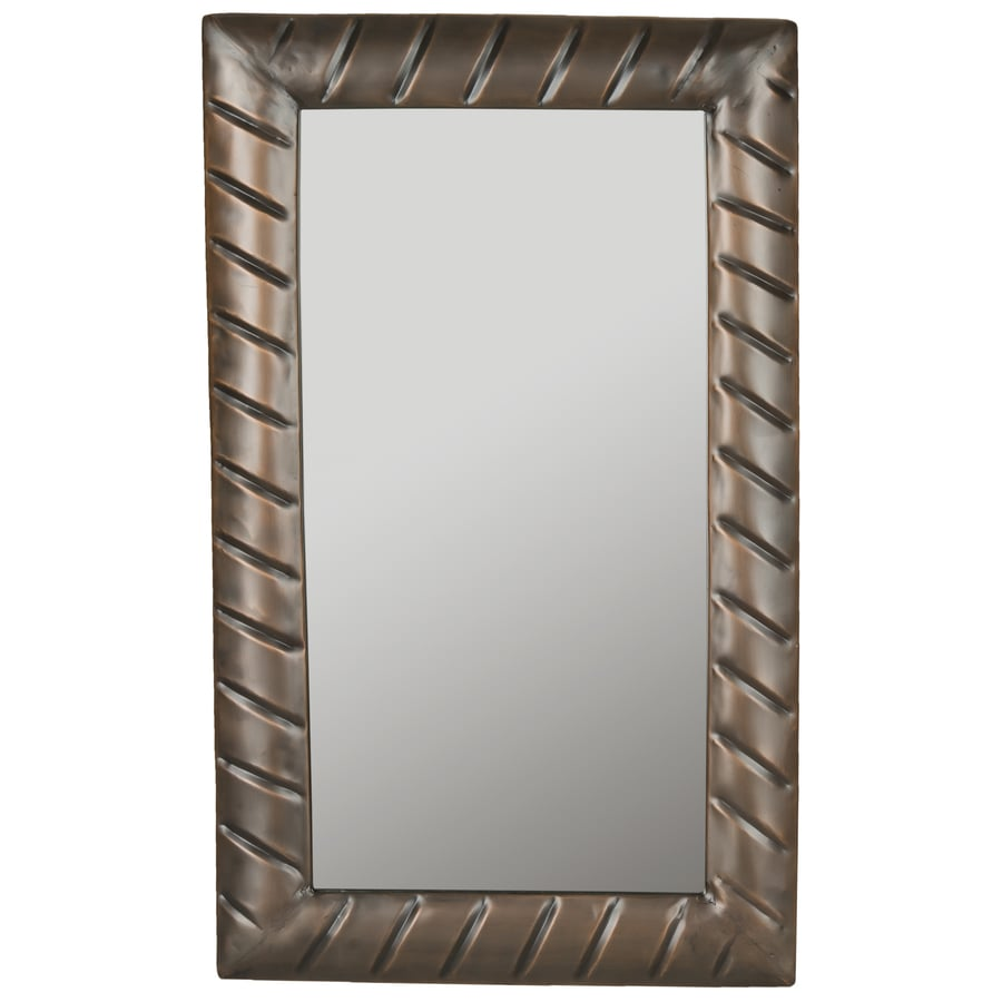Safavieh Charmaine Copper Polished Wall Mirror