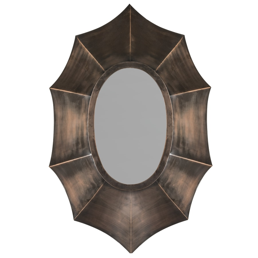 Safavieh Serafina Copper Polished Oval Wall Mirror