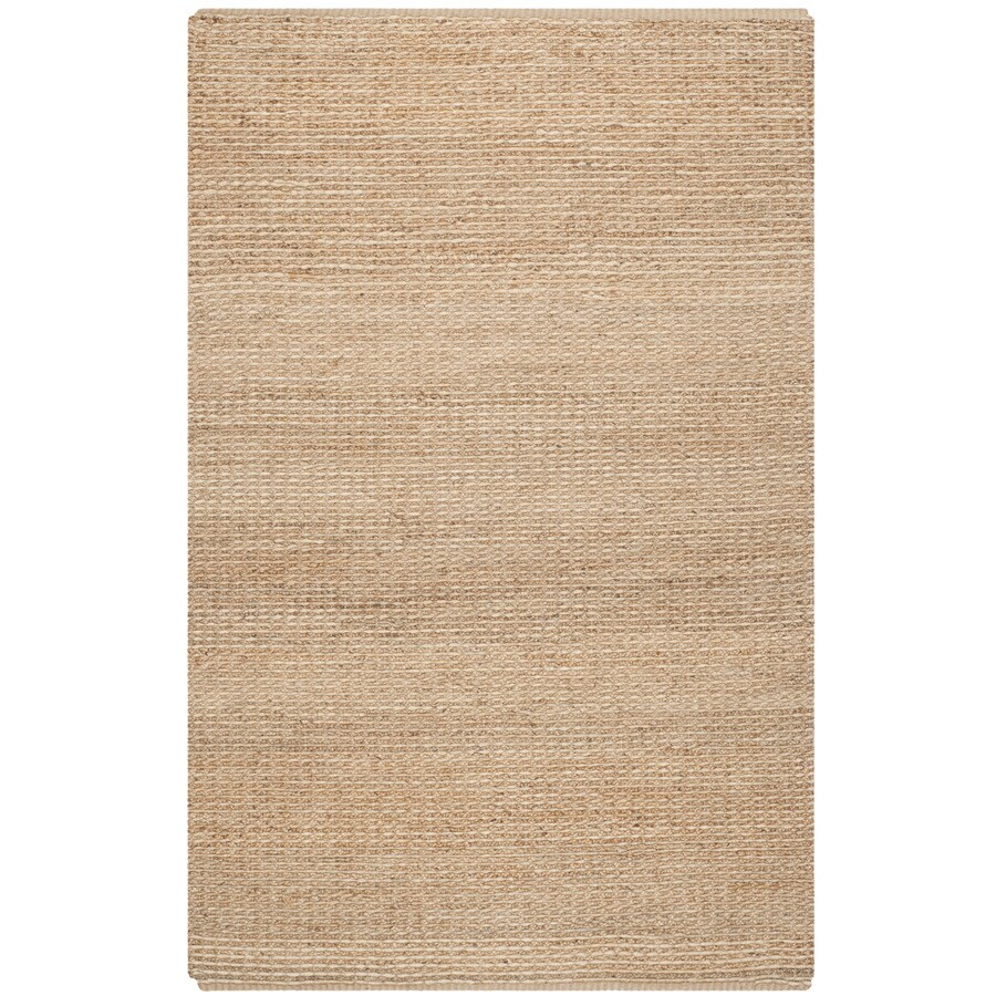 Safavieh Natural Fiber Roslyn Natural Indoor Handcrafted Coastal Area Rug (Common: 8 x 10; Actual: 8-ft W x 10-ft L)