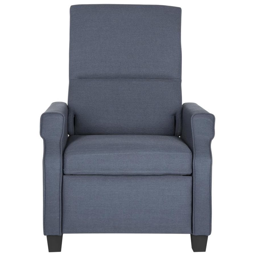 Safavieh Hamilton Casual Navy Faux Leather Accent Chair