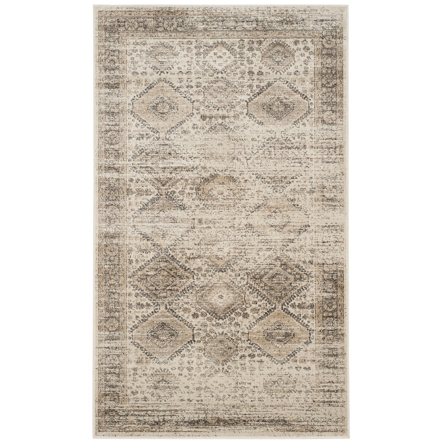 Safavieh Vintage Gul Stone Indoor Distressed Throw Rug (Common: 2 x 3; Actual: 2-ft W x 3-ft L)