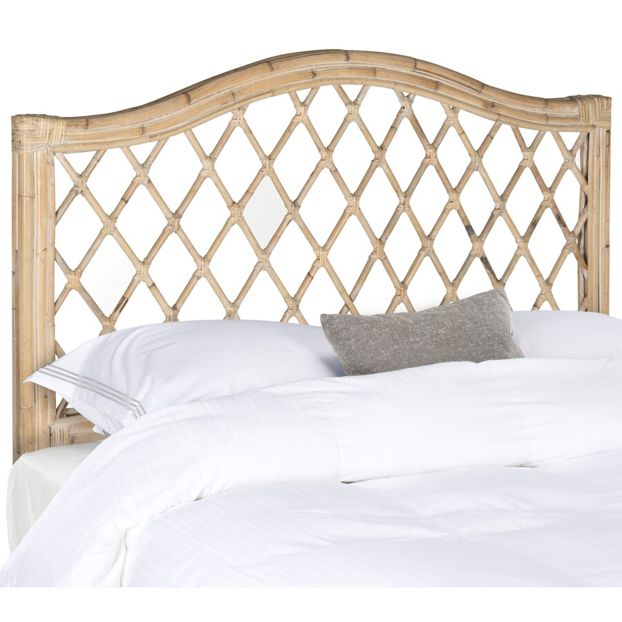 Safavieh Gabrielle White Washed Full Headboard
