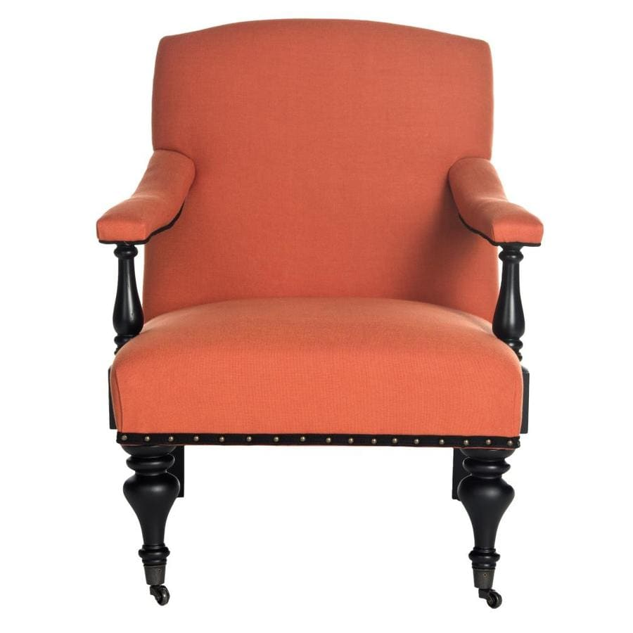 Safavieh Mercer Orange Accent Chair