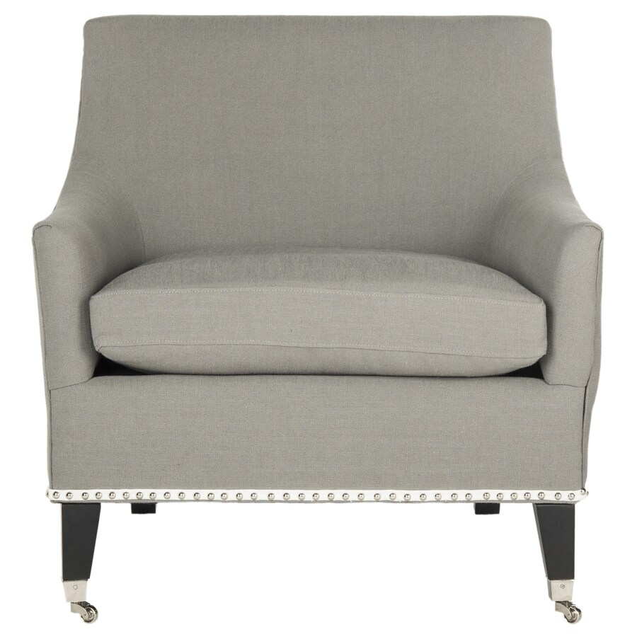 Safavieh Barlow Casual Granite Linen Accent Chair