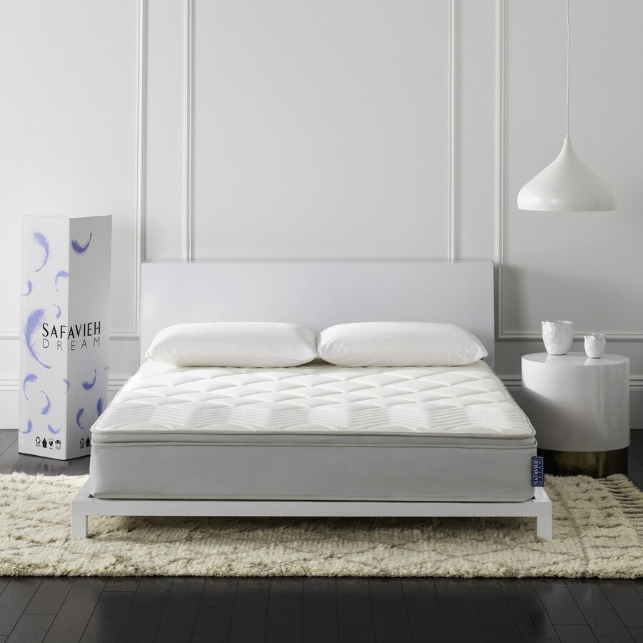 Safavieh Harmony 10-in Twin Medium Pocketed Coil Spring Mattress