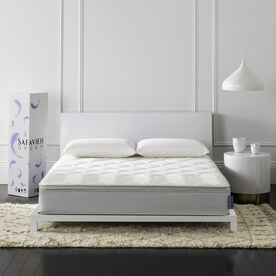 Safavieh Harmony Full 10 In Pocketed Coil Spring Mattress