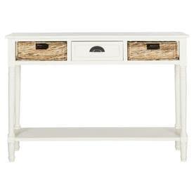 safavieh christa pine console table