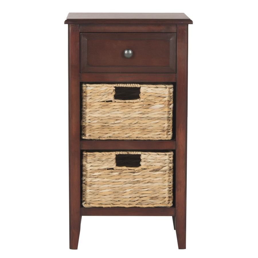 Safavieh Everly Cherry Pine End Table