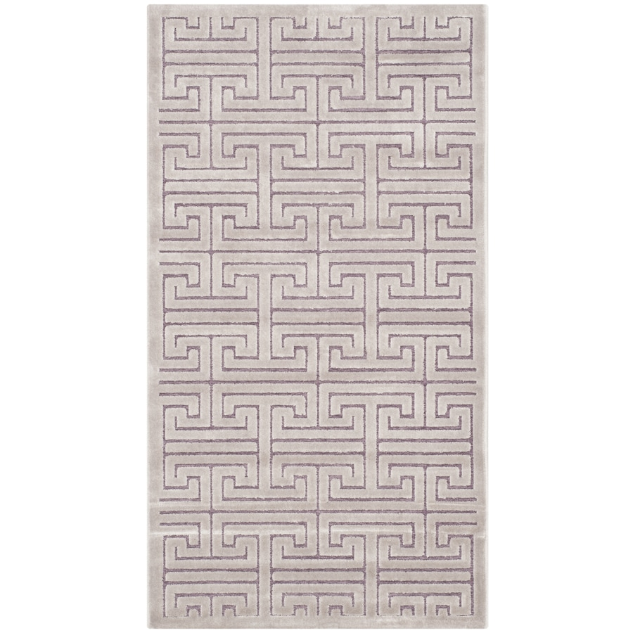 Safavieh Paradise Ainsley Mauve/Violet Indoor Distressed Throw Rug (Common: 2 x 4; Actual: 2.25-ft W x 4-ft L)