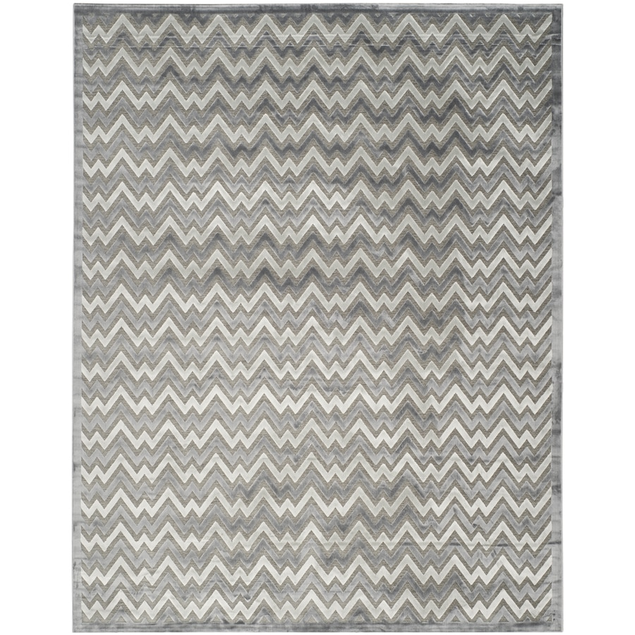 Safavieh Paradise Aika Blue/Gray Indoor Distressed Area Rug (Common: 8 x 10; Actual: 8-ft W x 10-ft L)