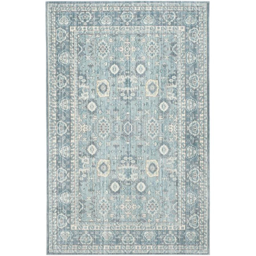 Safavieh Valencia Lonan Alpine Indoor Distressed Area Rug (Common: 4 x 6; Actual: 4-ft W x 6-ft L)