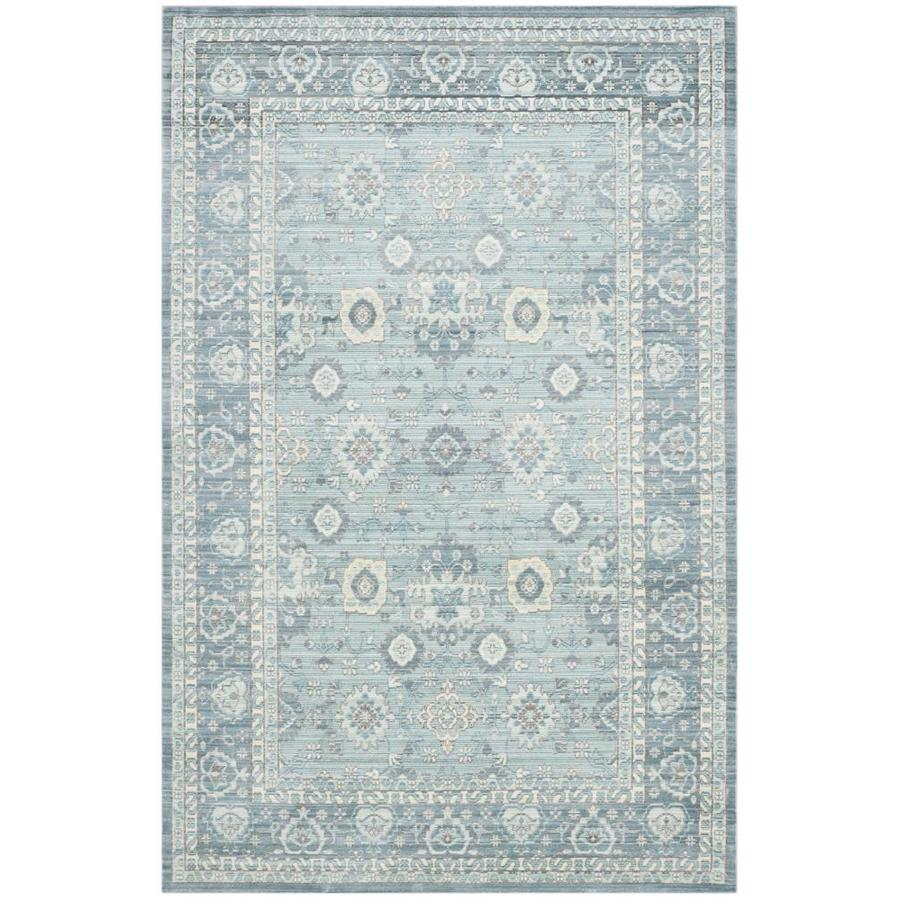 Safavieh Valencia Alpine/Multi Rectangular Indoor Machine-Made Distressed Area Rug (Common: 5 x 7; Actual: 5-ft W x 8-ft L)