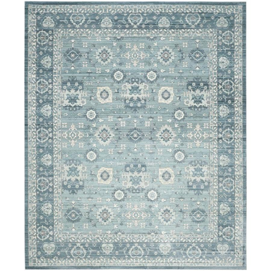 Safavieh Valencia Lonan Alpine Indoor Distressed Area Rug (Common: 9 x 12; Actual: 9-ft W x 12-ft L)