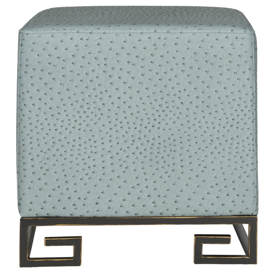 Safavieh Fox Slate/Gold Square Ottoman