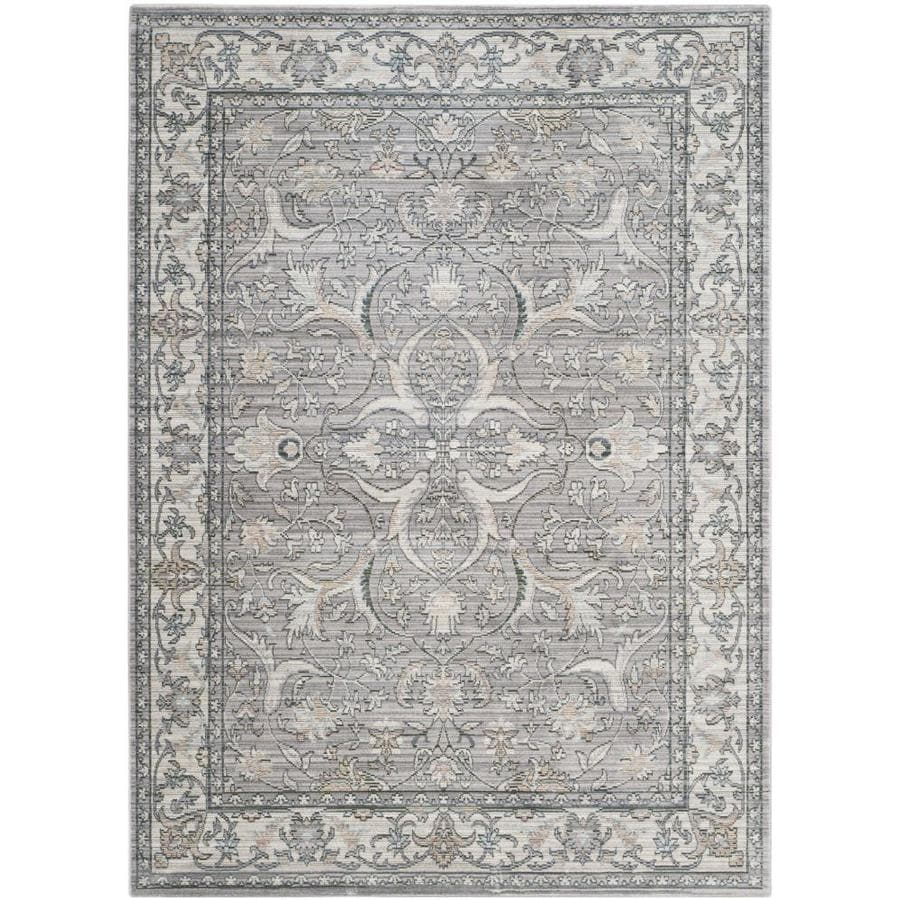 Safavieh Valencia Mauve/Cream Rectangular Indoor Machine-Made Area Rug