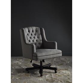 Safavieh Nichols Granite/Black Transitional Desk Chair