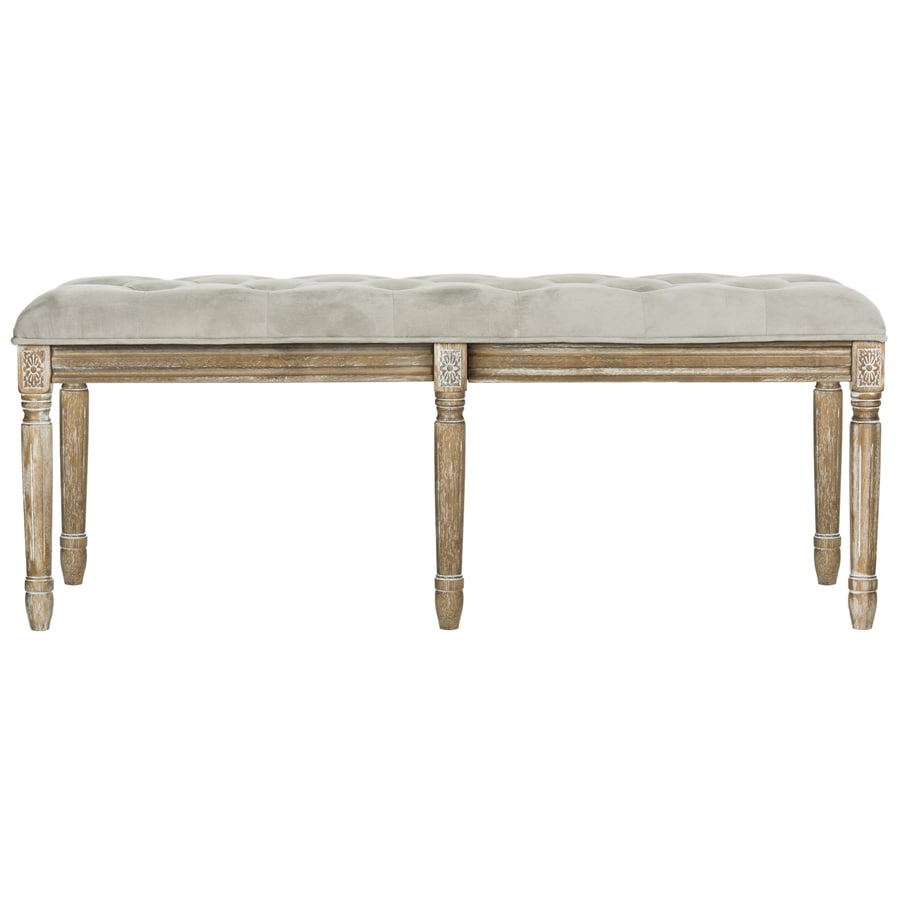 Safavieh Rocha Transitional Gray/Rustic Oak Accent Bench