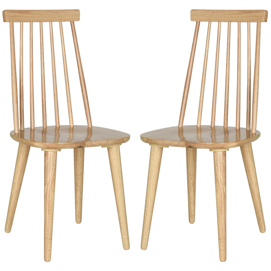 Safavieh Set of 2 Burris Traditional Medium Side Chairs