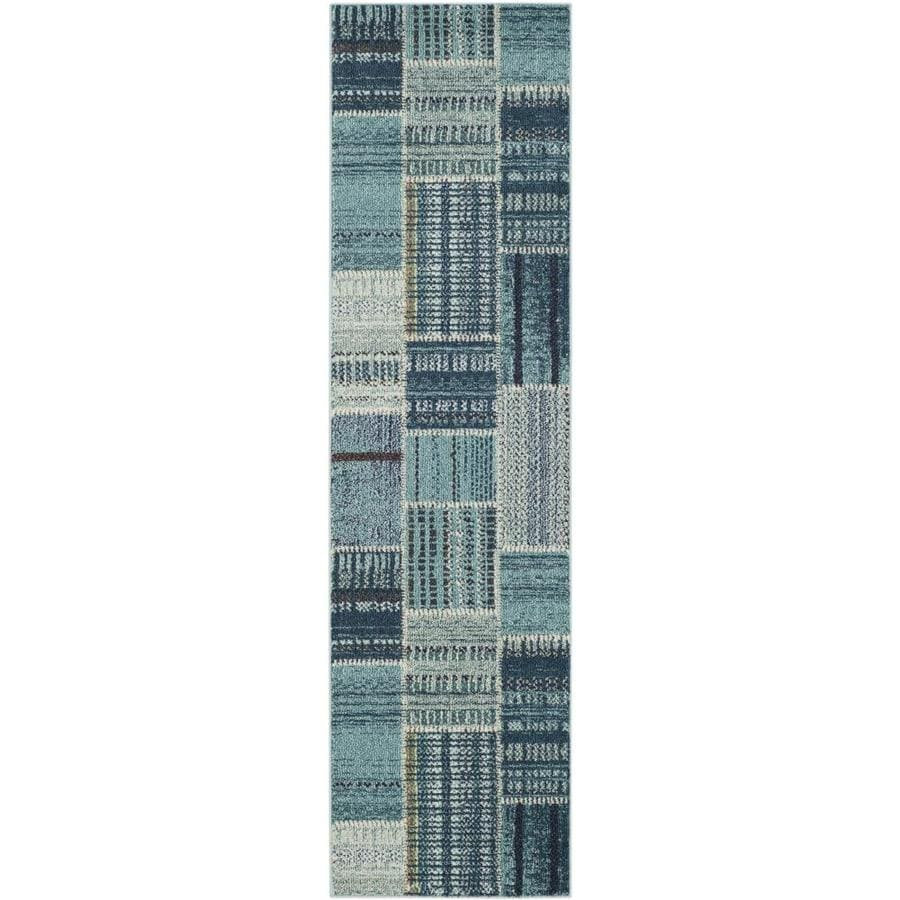 Safavieh Monaco Malena Indoor Distressed Runner (Common: 2 x 8; Actual: 2.2-ft W x 8-ft L)